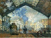 A Estação Saint-Lazare de Claude Monet
