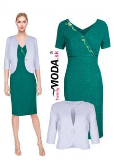 Elegantný kostým ZB45 Bodycon Dress, Dresses For Work, Fashion, Moda, Body Con, Fashion Styles, Fashion Illustrations, Body Con Dress