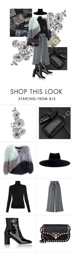 """Put the money in a bag and I stole the keys"" by laumk ❤ liked on Polyvore featuring Florence Bridge, Maison Michel, Majestic, Gucci, Valentino, taylorswift, fashionset, reputation and getawaycar"