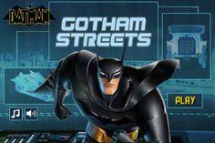 Batman Gotham Streets game online Online Games For Kids, Play Online, Cartoon Creator, Beware The Batman, Batman Games, Street Game, Free Fun, Gotham City, New Series