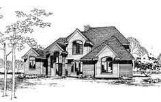 HousePlans.com 20-911...I like the look of outside..add door from MB and family room to outside porch..