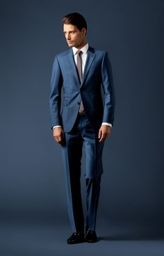 Anzug Finch-Brad in Blau