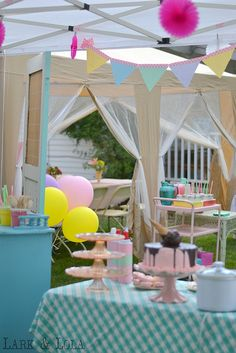 An Ice Cream Shoppe Birthday Party!