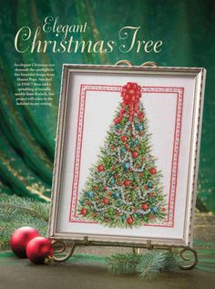 Elegant Christmas Tree 1/4