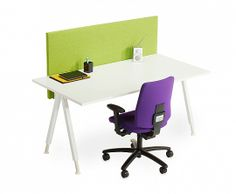 Alku Desk with A-leg | Office Furniture | Martela