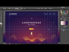 If you want to design a web layout creative and interesting today, there's a new Illustrator Tutorials to pay attention to. Minimal Web Design, Design Web, Layout Design, Web Design Mobile, Web Design Quotes, Web Design Trends, Web Layout, Graphic Design Tutorials, Creative Design