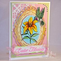 ODBDSLC195 Six of Something Stamps - Our Daily Bread Designs Easter Blessings, I am the Way, Hummingbird, ODBD Custom Hummingbird Die, ODBD Custom Decorative Corners Die, ODBD Blooming Garden Paper Collection