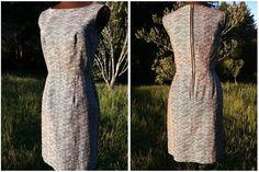 The Voyage Dress. Size 6. Black/White Organic Hemp. Japanese Print Design.. $240.00, via Etsy.