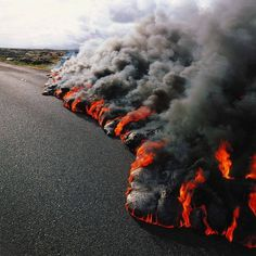 éruption volcanique à la Réunion