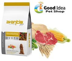 Good Idea Pet Shop is offering best food for your pet now. Brand : Avantis Pet food Category : Dry Food Species : Dogs Ingredients : Derivatives of vegetable origin, Vegetables (peas 4%), Beet pulp, Chicken oil and Minerals, Meat and animal by products (chicken 4%), Meat and animal by products (poultry 20%), 29% cereals (rice 4%), Oils and fats, Vegetables (peas 4%), For More Information Call : 042859696 Mobile/WatsApp : 0508788400 Email : info@goodidea.ae ‪#‎petfood‬ ‪#‎pet‬ ‪#‎petlovers‬