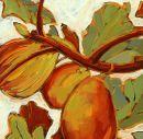 Three Figs...  Original: sold  Acrylic 16 x 12  Reproduction: $125.00      20 x 16