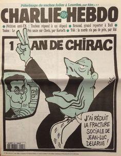 Charlie Hebdo - # 203 - 7 Mai 1996 - Couverture : Cabu