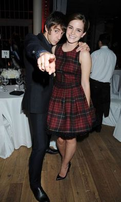 Emma Watson & Miles Kane at GQ Awards