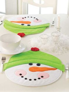 Holiday Table Topper Patterns - Seasonal Table Toppers