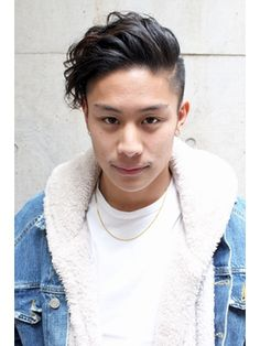 Mens Hairstyles With Beard, Asian Men Hairstyle, Asian Hair, Haircuts For Men, Short Curly Hair, Short Hair Cuts, Curly Hair Styles, Two Block Haircut, Messy Pixie Haircut
