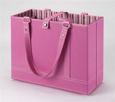 Click on the image to get a closer look!   Aurora would have been jealous to have this very pretty in pink hard shell traveling file folder which can easily fit a laptop, magical fairy, a snack or two, Prince Phillips coat, all while having sturdy bars across it to keep file folders in place.  Beautiful, stylish, and perfect for on the go from the home business Moms to the working corporate woman commuting regularly.  Any Princess would want it, so why not treat yourself?  Right?  Seriously…