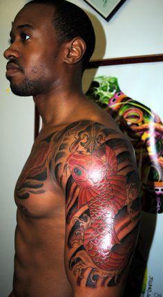 Tattoos That Show Up Really Well On Black Skin Google Search Tattoos For Black Skin Dark Skin Tattoo Black Skin