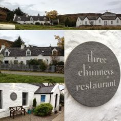 The world famous The Three Chimneys restaurant.  Had a great lunch here in 2002.