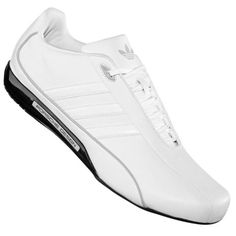 12b995e017f Mens Adidas Porsche White Design S2 Leather Designer Trainers Shoes Size  6-11 UK