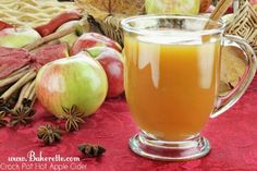 Crockpot Hot Apple Cider! For those chill-to-the-bone nights.