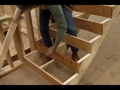 How to Build Stairs - YouTube