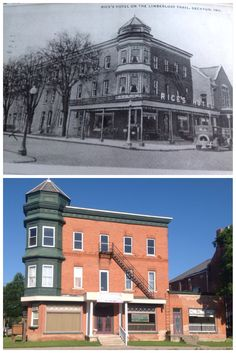 City Of Decatur Indiana Rice S Hotel Then And Now