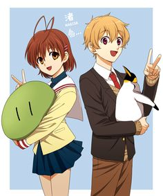 FINNALLY!! I have been looking for a picture if the 2 nagisas together!!!