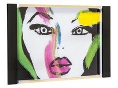 Beauty Vanity, White Tray, Sonia Kashuk, Art Of Beauty, Vanity Tray, Spring Art, Portrait, Creative, Face