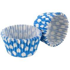 Tala Blue Scroll Design Baking Cases, Pack 32