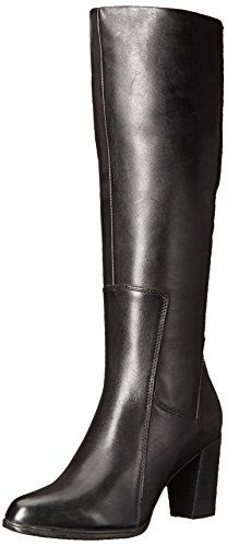 Clarks Women's Kadri Ariana Western Boot, Black Leather, 7.5 M US *** You can find out more details at the link of the image.
