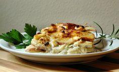 Potato Gratin with Feta and Herbs