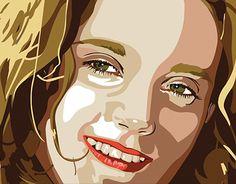 "Check out new work on my @Behance portfolio: ""Alice portrait - digital illustration"" http://be.net/gallery/52734337/Alice-portrait-digital-illustration"