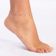 Colorful Baguette Anklet! Retails for $88 Enjoy Free Shipping & Returns on orders over $50!