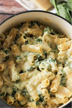 This simple recipe for Spinach Ricotta Pasta is a perfect weeknight dinner! Just a few simple ingredients and dinner is served! This simple recipe for Spinach Ricotta Pasta is a perfect weeknight dinner! Just a few simple ingredients and dinner is served! Ricotta Cheese Recipes Pasta, Spinach Ricotta, Ricotta Recipes Healthy, Spinach Dinner Recipes, Recipe Using Ricotta, Sauce Gnocchi, Vegetarian Recipes, Cooking Recipes, Vegetarian Dinners