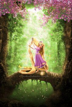 Rapunzel. Spring