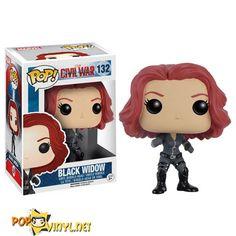 Black Widow POPVinyl