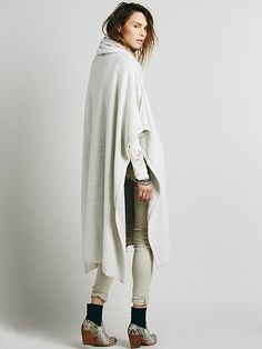 Free People Oh You Fancy Poncho, $128.00