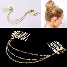 Beauty & Health Candid 1 Pcs Fashion Women Lady Multilayer Tassels Pearl Chain Hairpin Dish Hair Accessories Hair Clips
