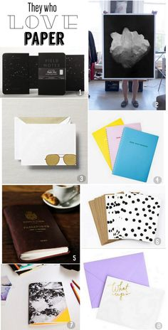 Gift Guide for Paper Lovers