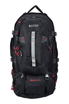 a612517f5b67 Mountain Warehouse Nevis Extreme 65L + 15L Litre Waterproof Rucksack Bag  Review. Nicki Ung · Casual Daypacks · Piquadro Flap Over Backpack ...