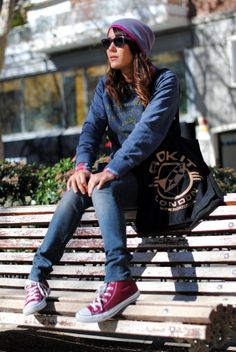Maroon #Converse #Chucks Chuck Taylor high-tops; #tennis shoes; #trainers; #sneakers