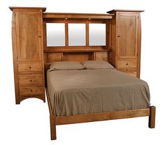 Wall Unit Beds | Store » Furniture » Simply Amish » Aspen