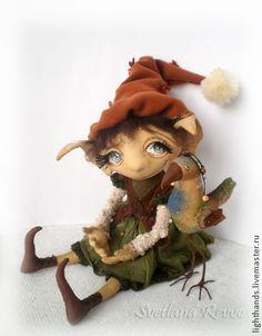 Коллекционные куклы ручной работы. Ярмарка Мастеров - ручная работа С мечтою о весне. Коллекционная кукла. Handmade.