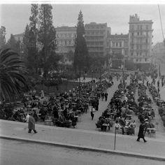 Sintagma square Greece-Date taken:January 1948  Photographer:Dmitri Kessel, #solebike, #Athens, #e-bike tours