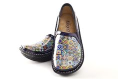 Alegria Debra Aztec Tile - on closeout for $69! | Alegria Shoe Shop