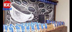 Diskon Sepesial Hub 0856-850-3437,  Lukisan Cafe Unik Untuk Cafe, Lukisan Cafe Coffee, Lukisan Cafe Batu Bata, Lukis Cafe, Lukisan Dinding Café Info Dan Pemesanan Hubungi: 0856-850-3437 ALAMAT: RUKO NITTO TERRACE JL.MASJID RAWA BACANG RT 08/14 KEL.JATIRAHAYU KEC.PONDOK MELATI BEKASI JAWA BARAT