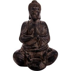 $12 Features</b><ul><li>Natural</li><li>Resin Buddha Tealight Holder -Cross Legged</li><li>A great gift for someone special</li></ul><b>Measurements</b><br>14x12.5x21 cm<br><hr><hr><b>About Casa Uno</b><br><i>Casa Uno brings together unique pieces from around the globe to make your house a home. Our exclusive designs of lighting, furniture and decor pieces means you can mix and match all the elements to create a stylish setting.</i>