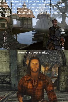 The Elder Scrolls now and then