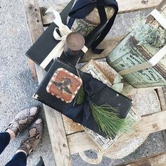 #ELSIEGREEN: Packages tied up in string! I wanted everything from the @elsie_green pop-up at @marincountrymart! #antiques #fromwhereistand @fredasalvador