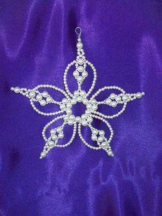 *BETHLEHEM STAR ~ Chrismon Style Ornament Bead Craft Kit Heirloom Quality Beads | eBay